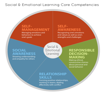 SELAS graphic of Core Competencies